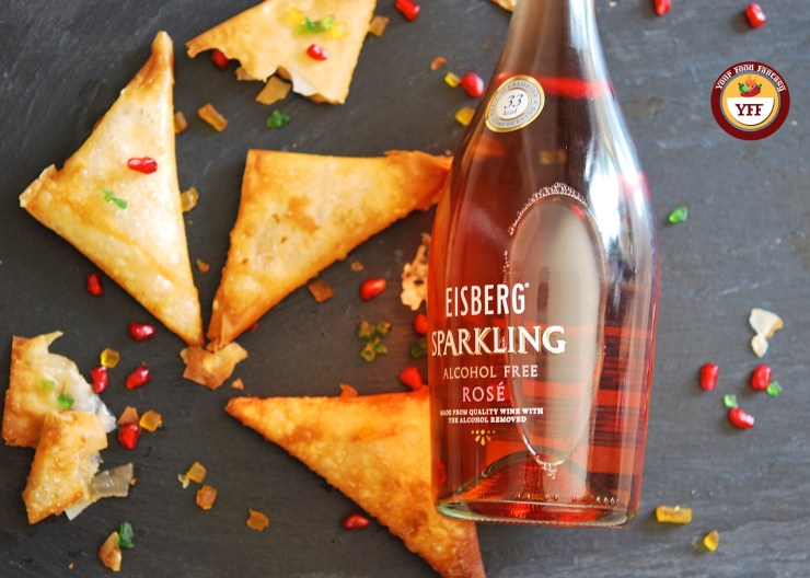 Eisberg Non-alcoholic Rose review | Your Food Fantasy