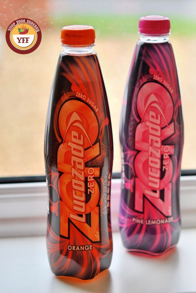 Lucozade Zero Cal Review | Your Food Fantasy