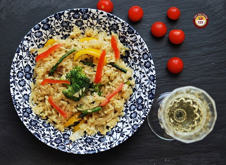 Vegetarian Risotto Recipe | Italian Food | Your Food Fantasy