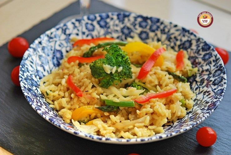 Vegetarian Risotto Recipe | Italian Food | YourFoodFantasy.com