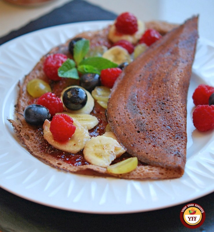 Fruity Chocolate Dosa Crepes | Your Food Fantasy
