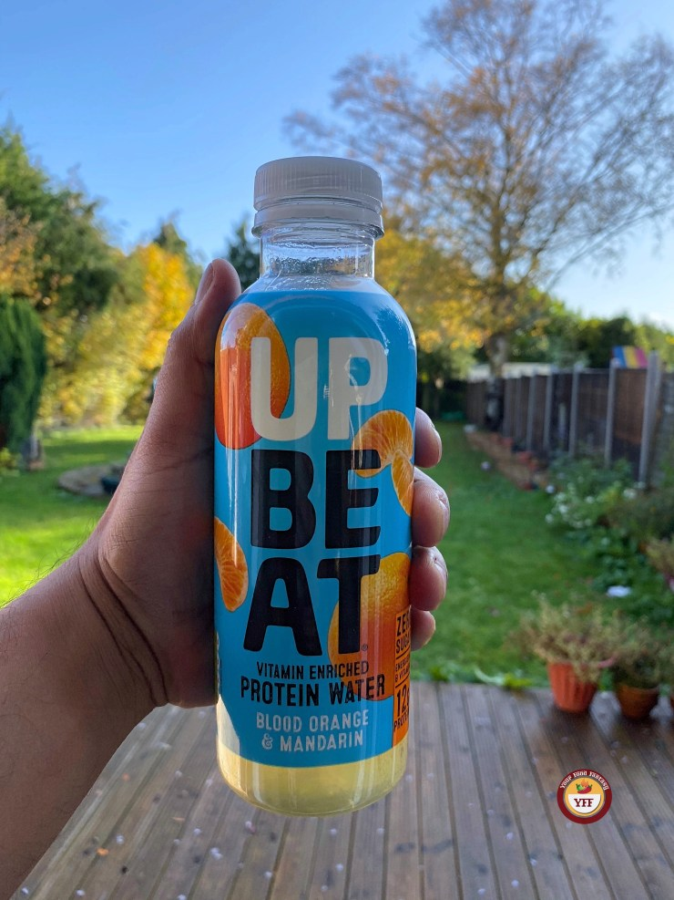 Upbeat Juicy Protein Water | Review by Your Food Fantasy