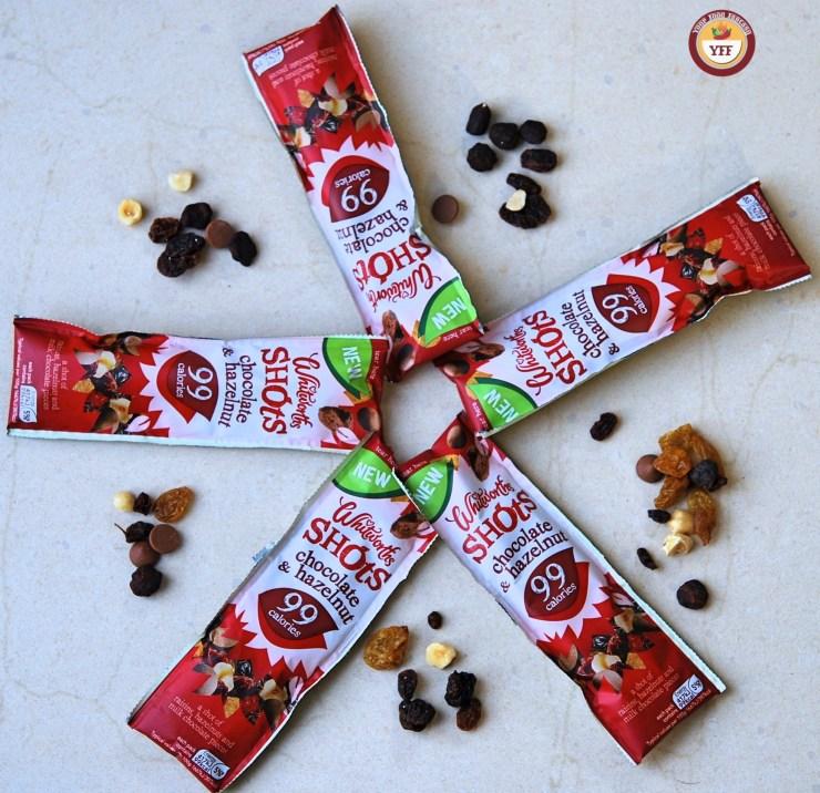 Whitworths Shots Chocolate & Hazelnut   Review by YourFoodFantasy