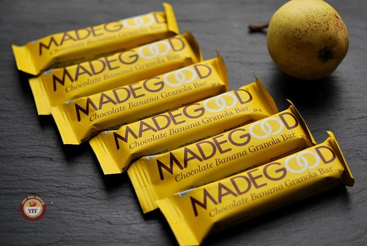 MadeGood Granola Bars | YourFoodFantasy.com