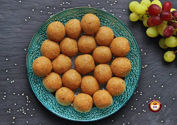 Til Ke Laddoo | Sesame Seeds Laddoo Recipe