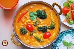 Cannellini Broccoli Vegan Curry Recipe | Your Food Fantasy
