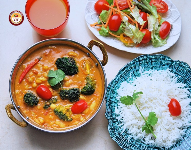 Cannellini Broccoli Vegan curry | Your Food Fantasy