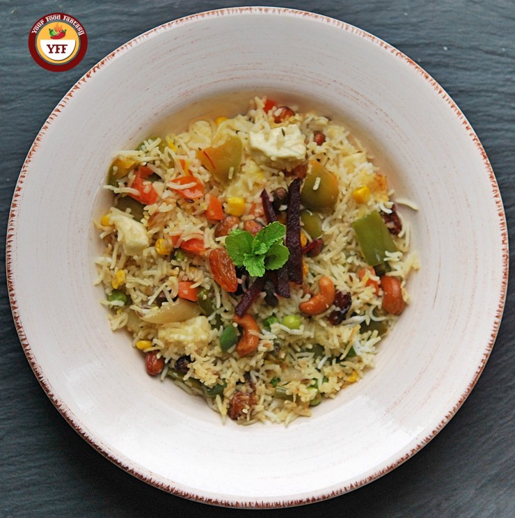 How to make Navratan Pulao | Your Food Fantasy