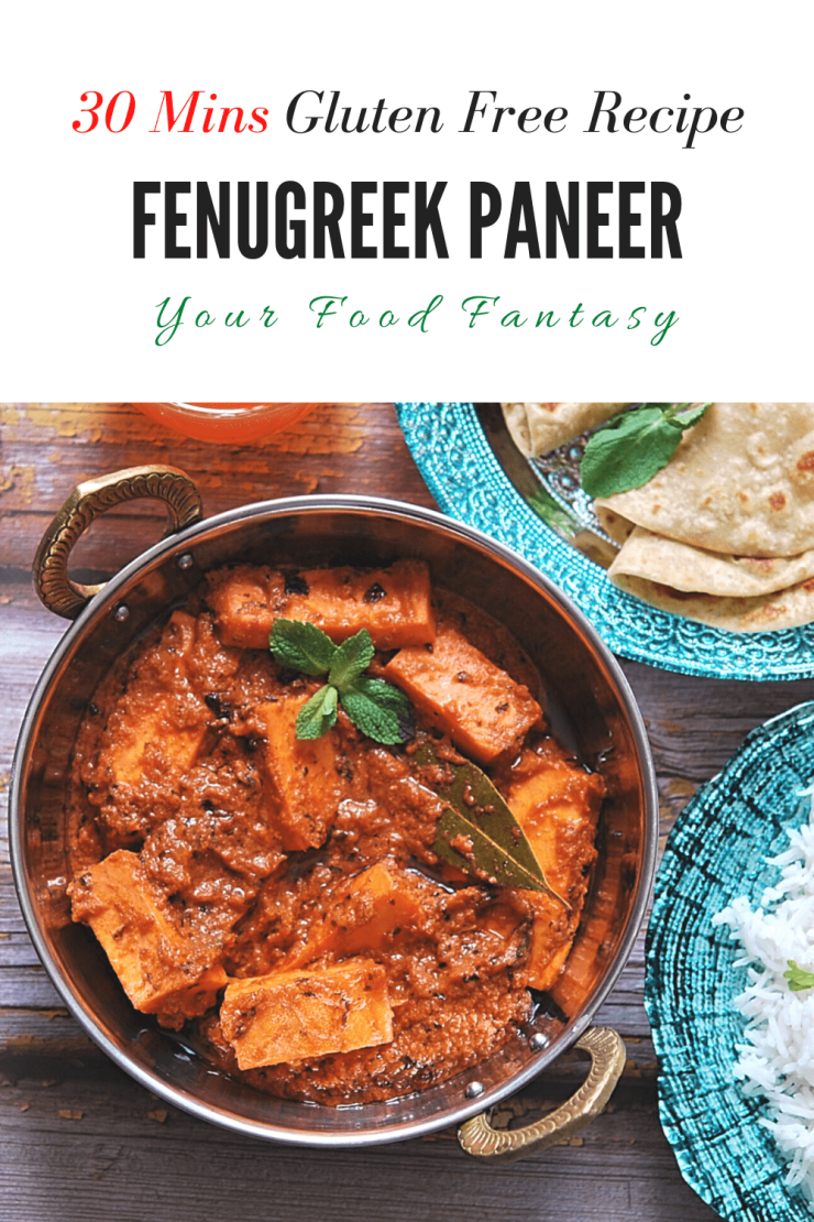 Methi Paneer - Paneer Recipes