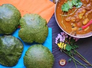 Spinach Poori Recipe | Your Food Fantasy
