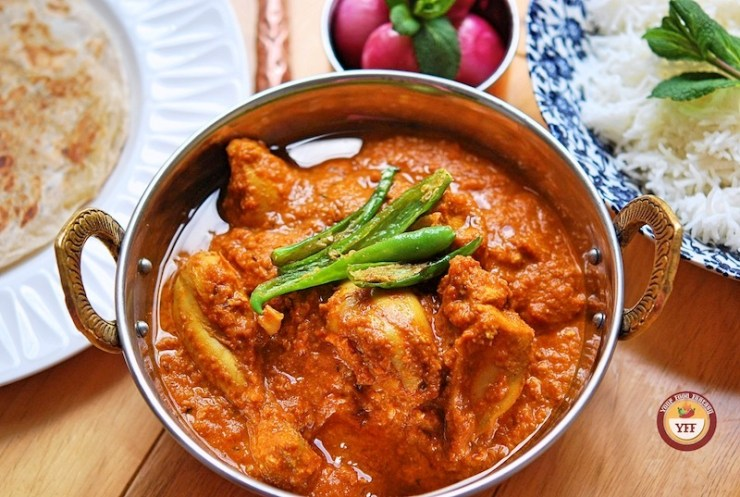 Chicken Changezi Recipe - Authentic Chicken Curry | Your Food Fantasy