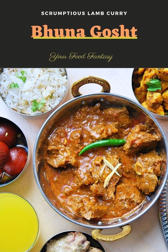 Bhuna Gosht Recipe - Your Food Fantasy