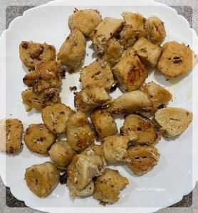 Fried Soya for Malai Soya Chaap | Your Food Fantasy