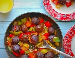 Purple Cabbage Manchurian Recipe   Your Food Fantasy