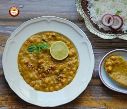 Eggplant Chickpea Curry or Stew