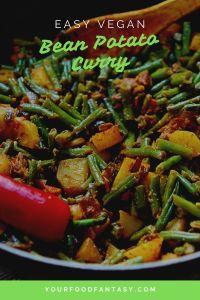 Beans Potato Curry Recipe