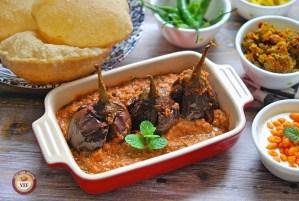 Bharwa Baingan Recipe - YourFoodFantasy.com
