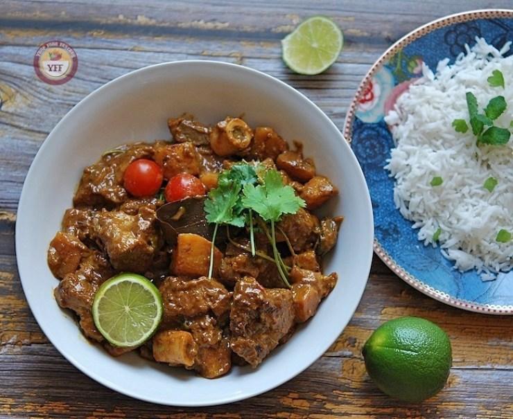 Aloo Gosht - Lamb Curry