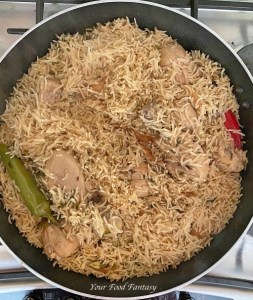 Homemade Chicken Yakhni