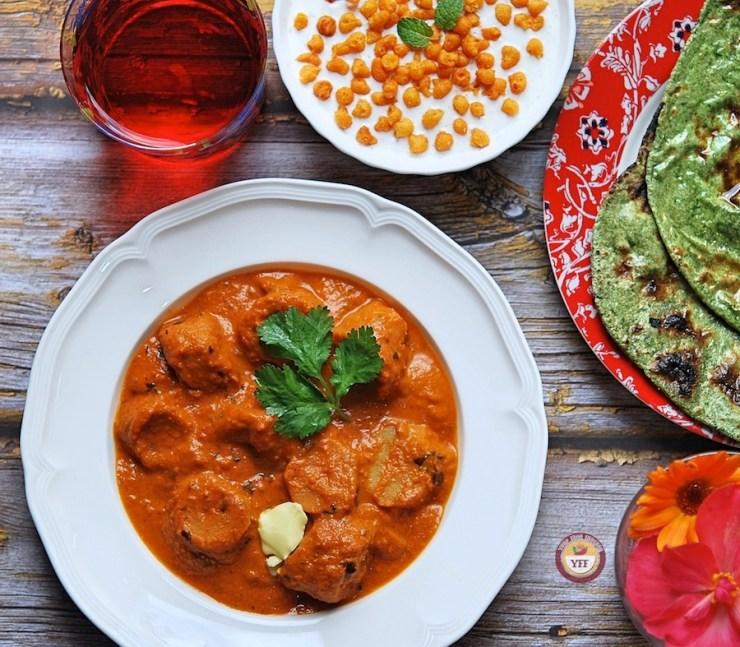 Makhni Soya Chaap Recipe - How to make soya chaap