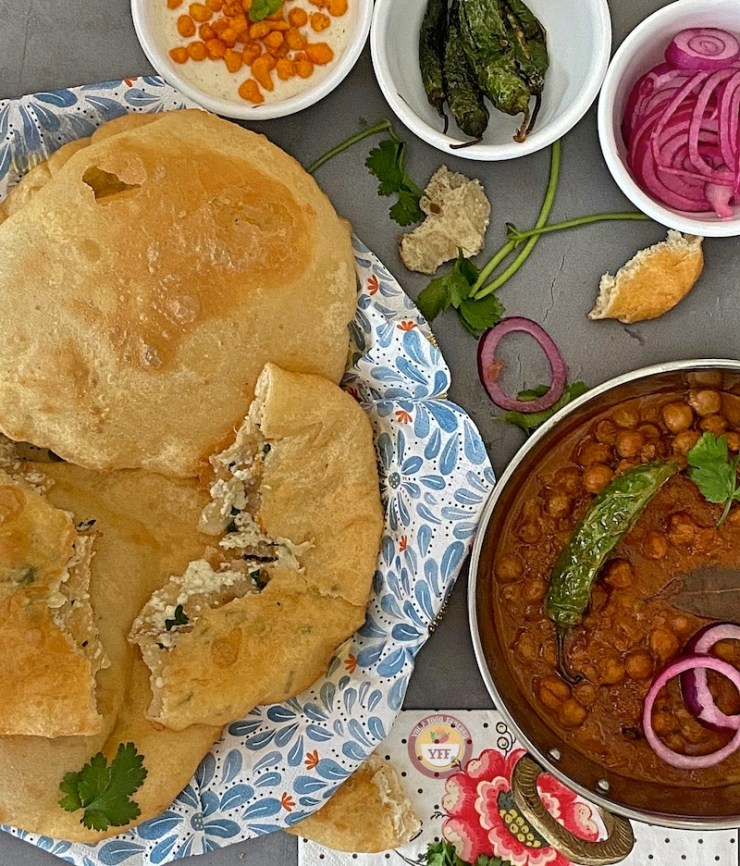 Paneer Bhatura - Your Food Fantasy