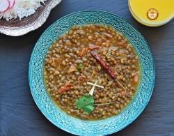 Whole Masoor Dal Recipe - Brown Lentils
