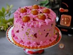 Gulab Jamun Cake Recipe - Indian Fusion Cake