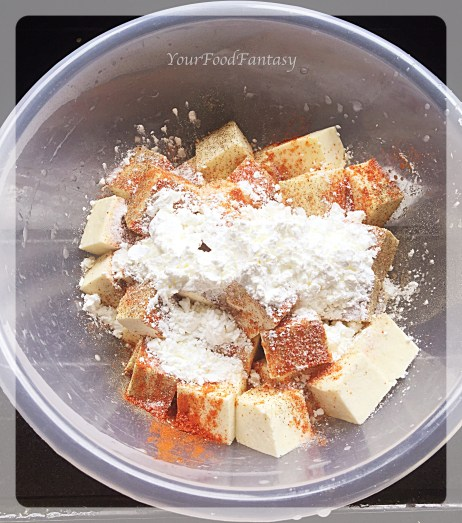 Paneer masala for chilli paneer at your food fantasy