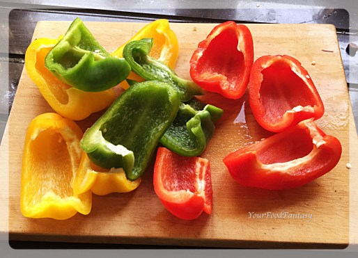 peppers For chilli paneer at your food fantasy