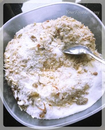 dry fruit mixture for mava gujiya | yourfoodfantasy by meenu gupta