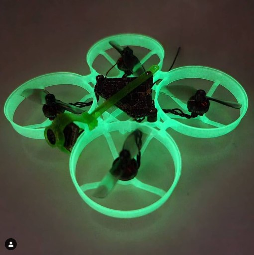 Fluorescent 75mm brushless whoop