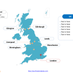 Free United Kingdom Map Free Powerpoint Templates
