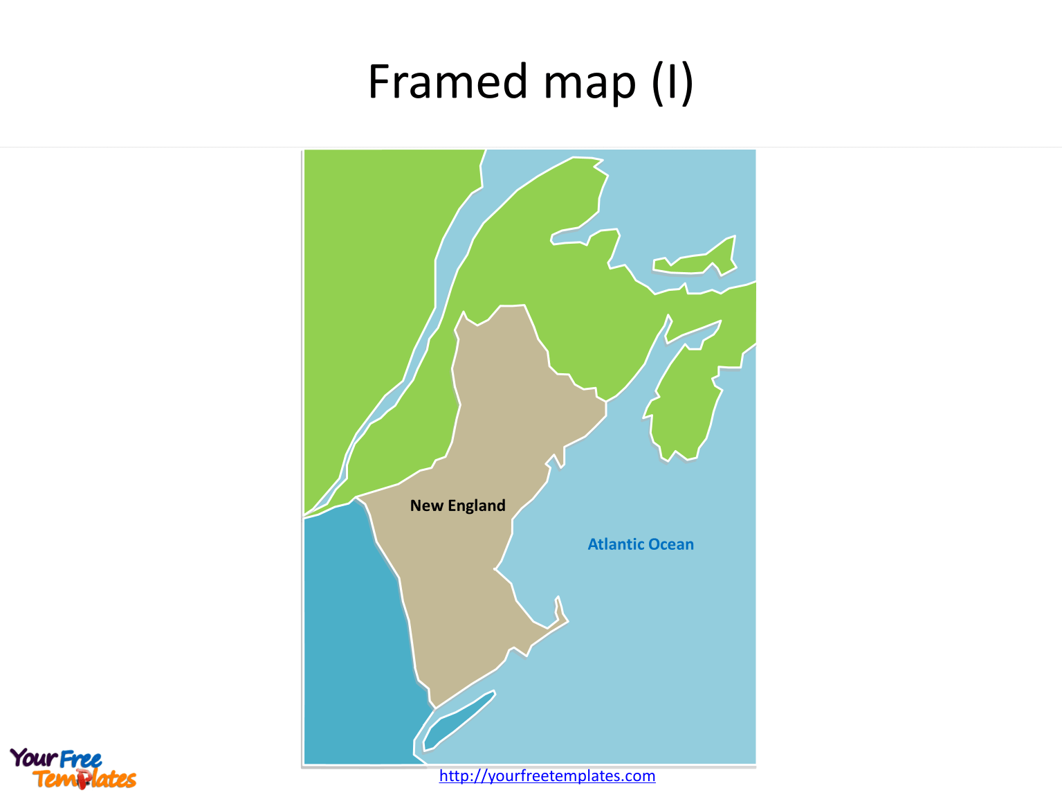 Us New England Map
