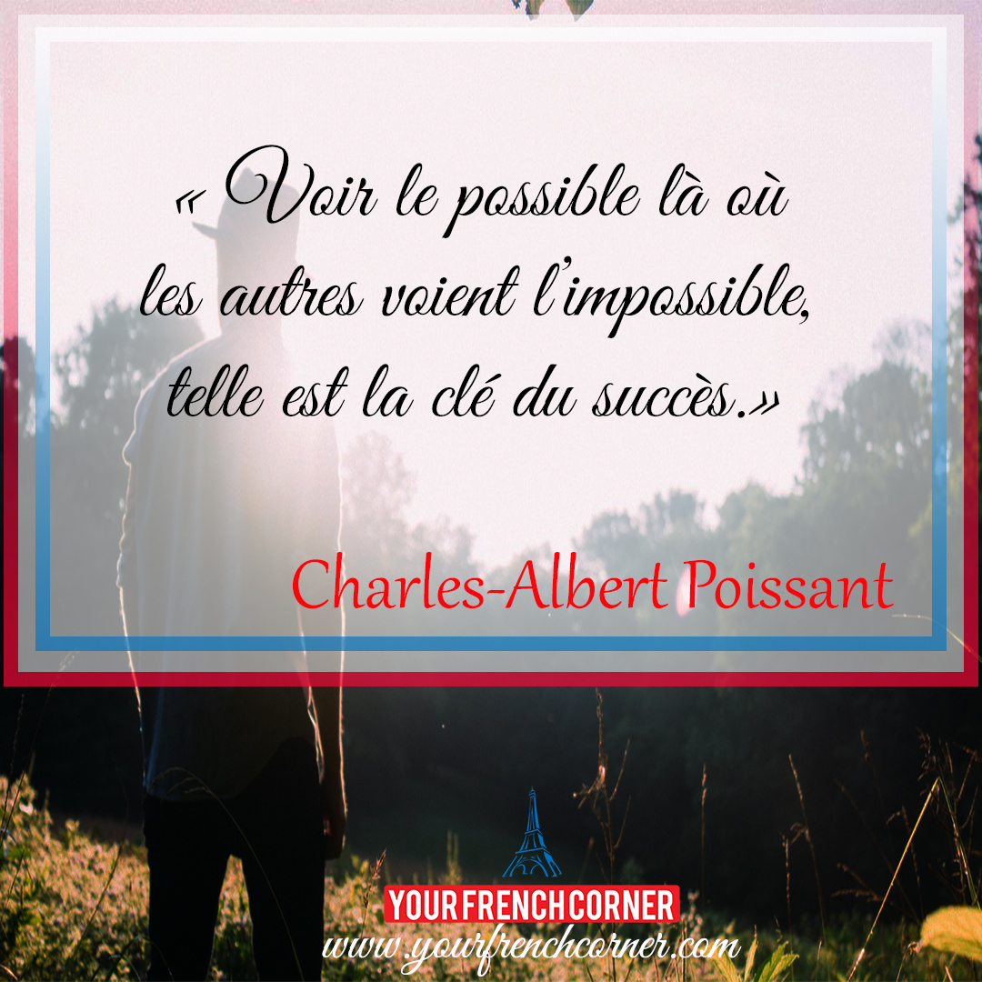 Quotes Inspirational 10 Powerful Inspirational Quotes In French  Your French Corner
