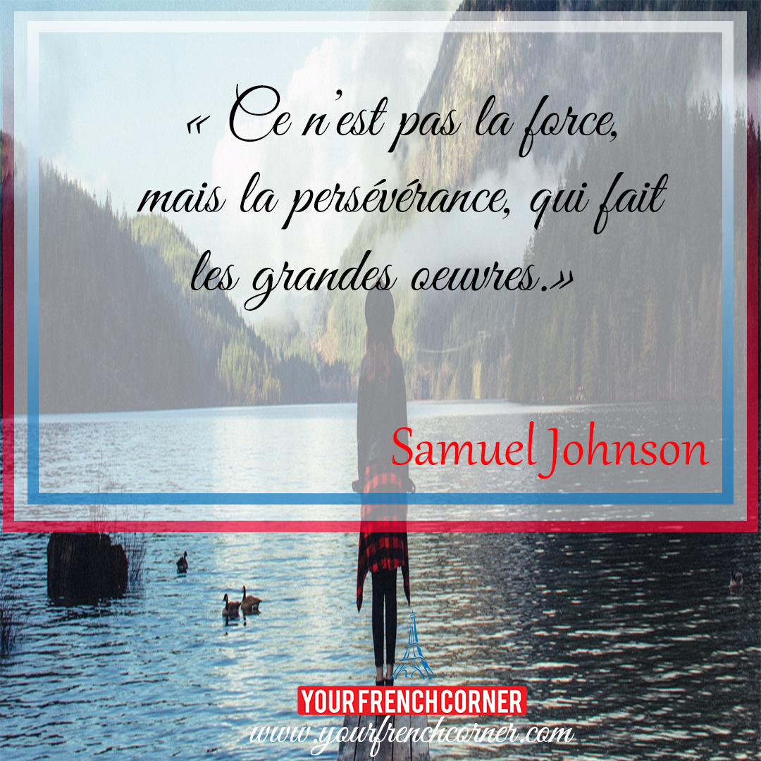 Inspirational Quotes About Perseverance 10 Powerful Inspirational Quotes In French  Your French Corner