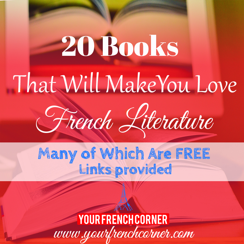 20 Books That Will Make You Love French Literature