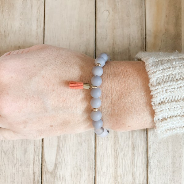 Stackable Beaded Stretch Bracelet