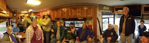 small resolution of  sixteen inspectors inside an rv getting ready to inspect