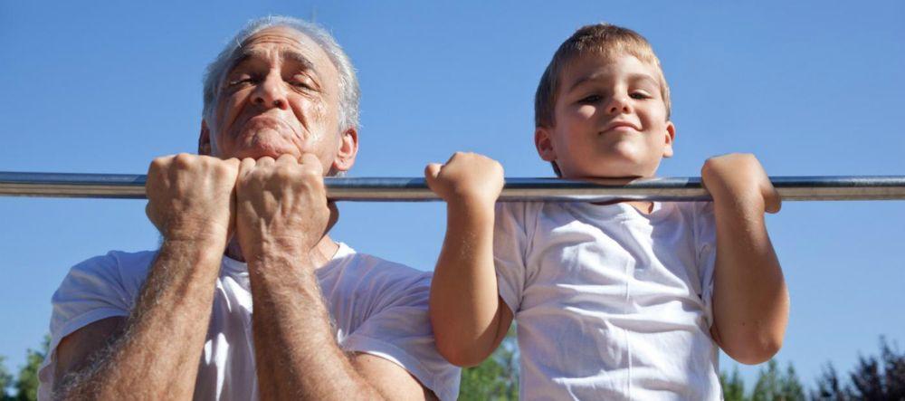 Le cellule invecchiano di otto anni senza attività fisica