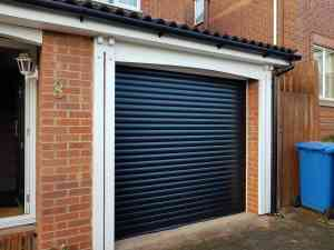 Roller Garage Door in Blue