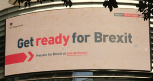 Brexit poster sign