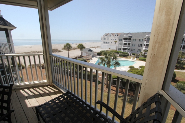 Wild Dunes SC Charleston Ocean View Deck