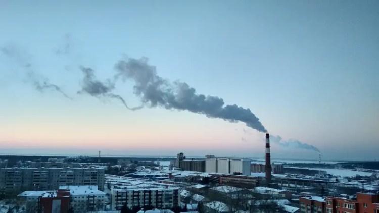 Canva City Skyline Under Blue Sky and White Clouds - portfolio carbon footprint