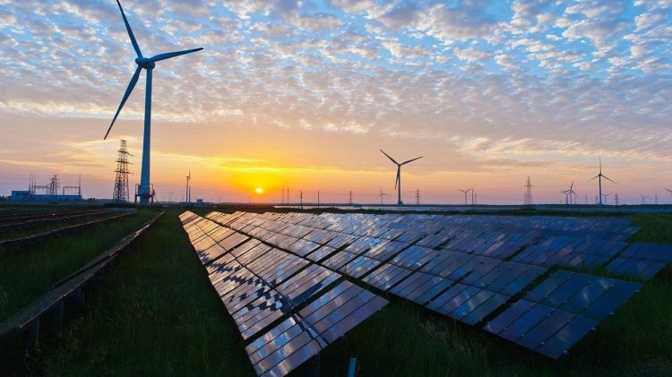 Clean and green energy ETF - solar and wind renewable energy