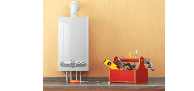 DIY tankless water heater installation