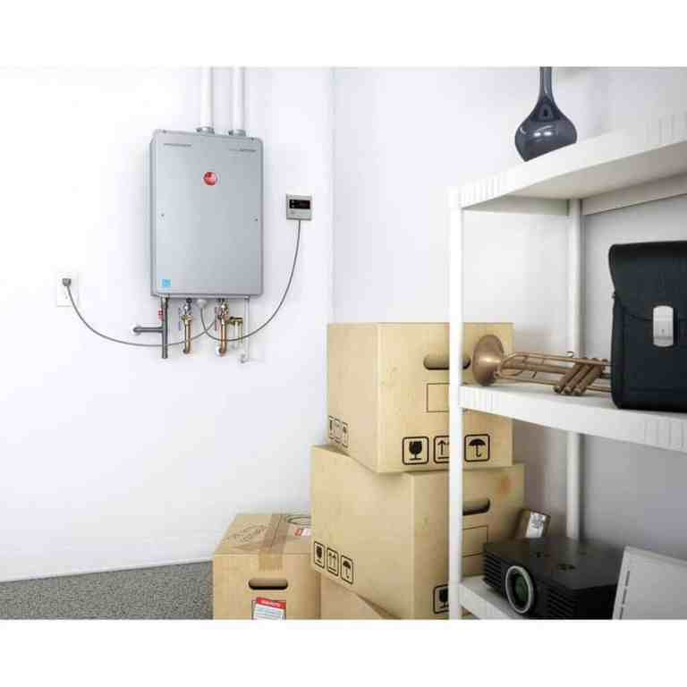 Where to Install a Tankless Water Heater Inside Closet