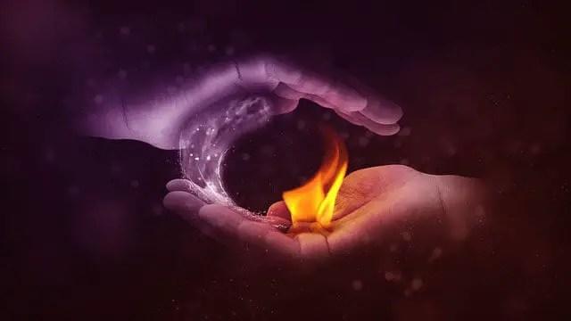 Yin yang fire and water