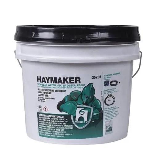 Hercules Haymaker Descaler Kit for Tankless Water Heater
