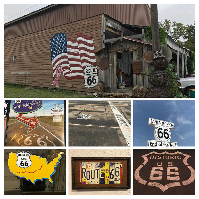 Happier Place: Route 66 - photographed by Geri Linda Metterle