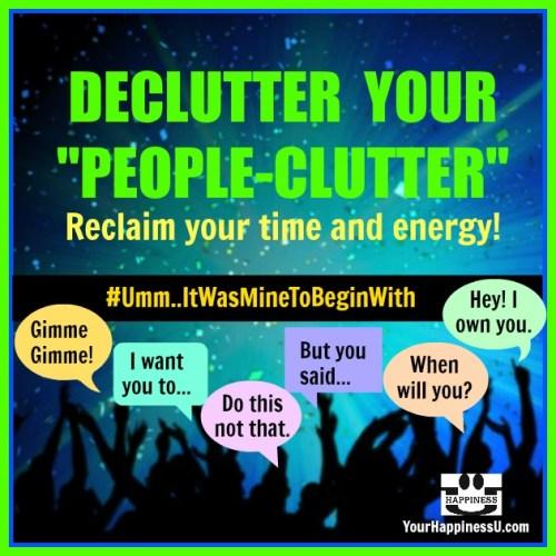 Declutter People